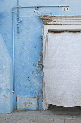 Photograph - Blue And White by Cheri Randolph