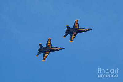 Photograph - Blue Angel 23 by Mark Dodd