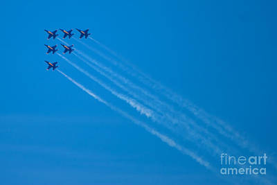 Photograph - Blue Angel 29 by Mark Dodd