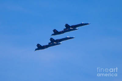 Photograph - Blue Angels 16 by Mark Dodd