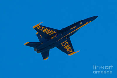 Photograph - Blue Angels 18 by Mark Dodd