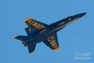 Photograph - Blue Angels 19 by Mark Dodd