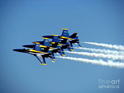 Photograph - Blue Angels 2 by Morgan Wright
