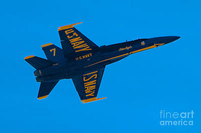 Photograph - Blue Angels 20 by Mark Dodd
