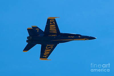 Photograph - Blue Angels 21 by Mark Dodd