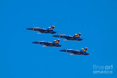 Photograph - Blue Angels 25 by Mark Dodd