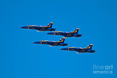 Photograph - Blue Angels 26 by Mark Dodd