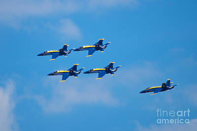 Photograph - Blue Angels 27 by Mark Dodd