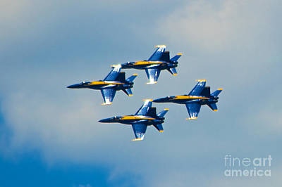 Photograph - Blue Angels 5 by Mark Dodd