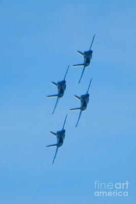 Photograph - Blue Angels 6 by Mark Dodd