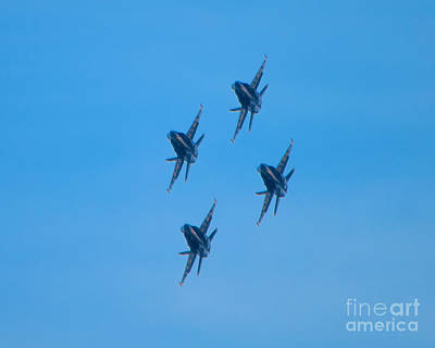Photograph - Blue Angels 7 by Mark Dodd