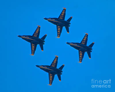 Photograph - Blue Angels 8 by Mark Dodd