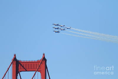 Airplanes Photograph - Blue Angels F-18 Super Hornet . 7d8081 by Wingsdomain Art and Photography