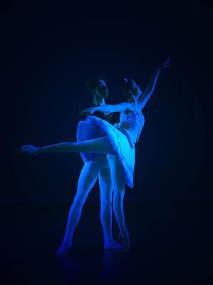 Blue Ballet Art Print by Jenn Harris