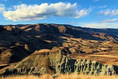 Photograph - Blue Basin Blue Skies by Adam Jewell