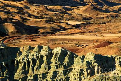Photograph - Blue Basin Valley by Adam Jewell