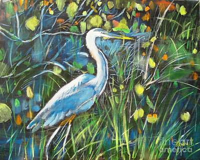 Blue Bayou Art Print by Judy Kay