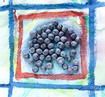 Blue Berries    Art Print by Igor Kislev
