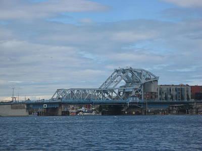 Blue Bridge Victoria Art Print