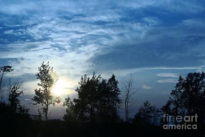 Photograph - Blue Canvas Sky 03 by Aimelle