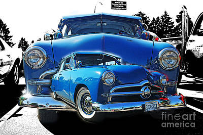 Blue Classic Dbl.hdr Art Print by Randy Harris