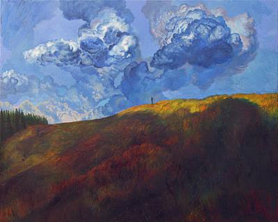 Blue Clouds Original by Fernando Alvarez