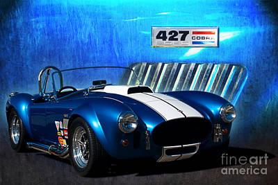 Photograph - Blue Cobra by Stuart Row