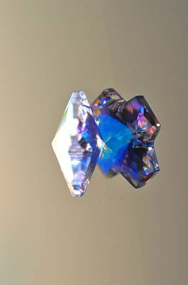 Photograph - Blue Crystal  by Puzzles Shum