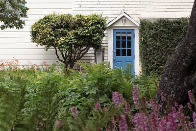 Photograph - Blue Door by Denice Breaux