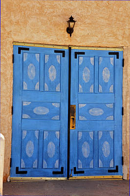 Photograph - Blue Door by Helen Haw