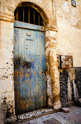 Blue Door Art Print by Marion McCristall