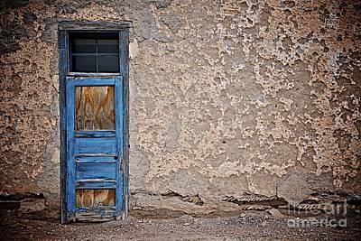 Blue Door Art Print by Sherry Davis