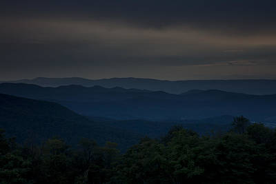 Photograph - Blue Dusk by Sara Hudock