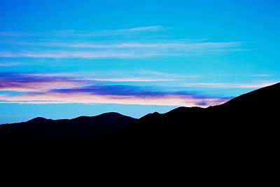 Blue Evening Art Print by Kevin Bone