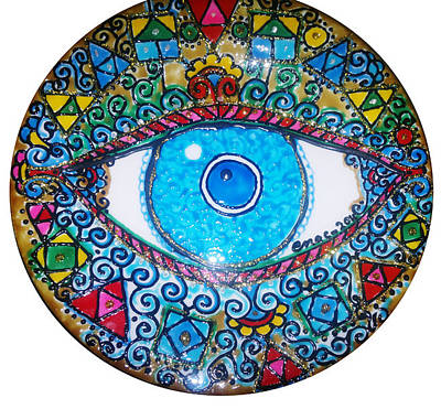 Blue Eye Original by Enas Darwish