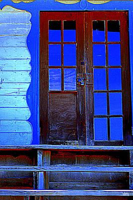 Photograph - Blue Glass by Diane montana Jansson