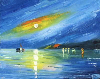 Blue Harbor Original by Ash Hussein