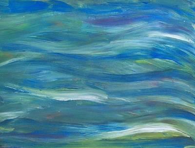 Blue Harmony Art Print by Jeanette Stewart