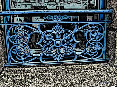 Photograph - Blue Iron by George Pedro