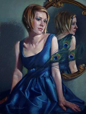 Pastel - Blue by Jean Hildebrant
