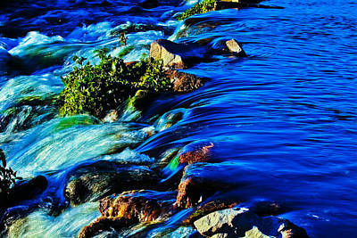 Blue Art Print by Joshua Dwyer