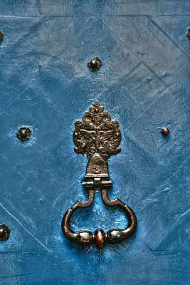 Photograph - Blue Knocker by Greg Sharpe