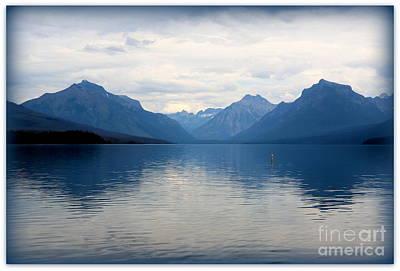 Photograph - Blue Lake Mcdonald by Carol Groenen