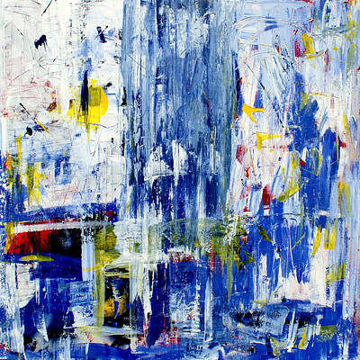 Wall Art - Painting - Blue by Lee Eggstein