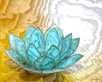 Photograph - Blue Lotus by Diana Haronis