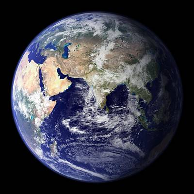 Generation Next Photograph - Blue Marble Image Of Earth (2010) by Nasa Earth Observatory