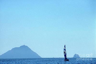 Photograph - Blue Mazatlan  by John  Mitchell