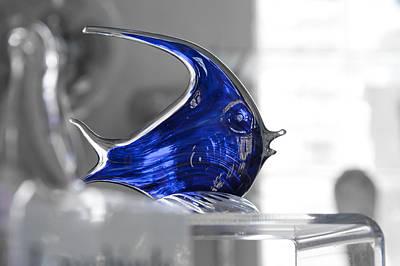 Blue Art Print by Michael Braxenthaler