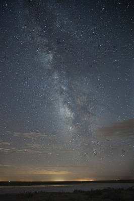 Photograph - Blue Milky Way by Melany Sarafis