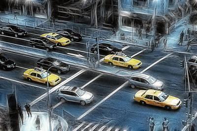 City Streets Photograph - Blue Monday by Joachim G Pinkawa